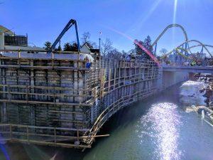 amusement park construction