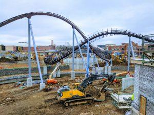 roller coaster construction