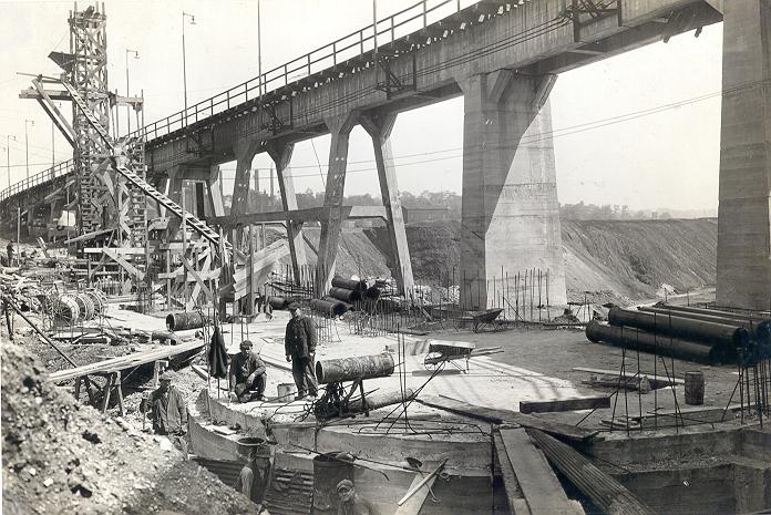 PA Railroad Company Bridge