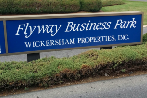 flyway business park sign