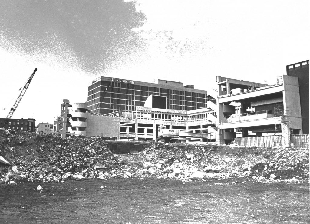 Lancaster Square Demolition