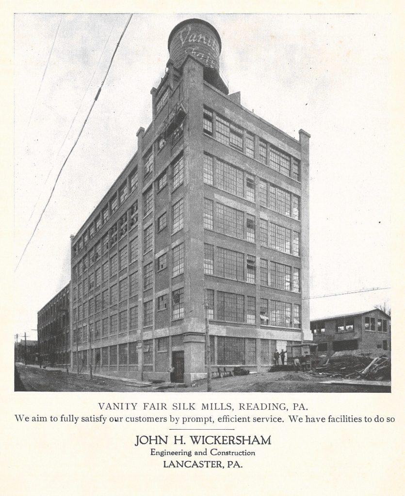 Vanity Fair Silk Mills, Reading, PA