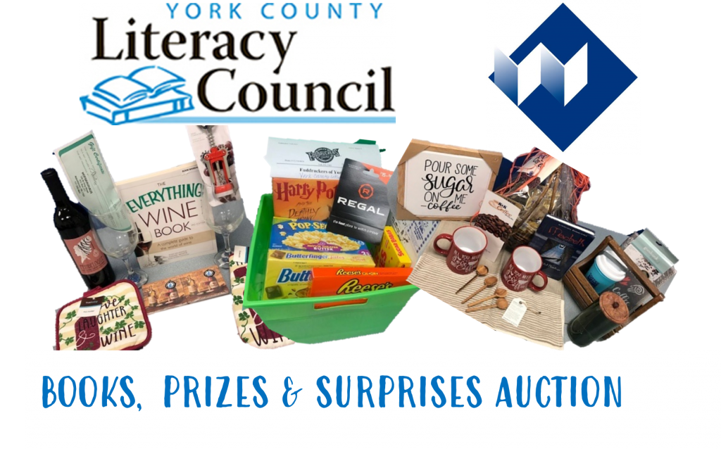 PROUD SPONSORS OF YORK COUNTY LITERACY COUNCIL AUCTION